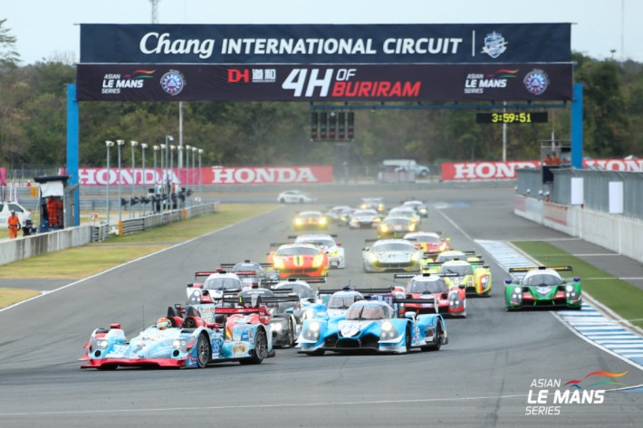 Asian LMS - A new win for Jackie Chan DC Racing's Oreca in Thailand